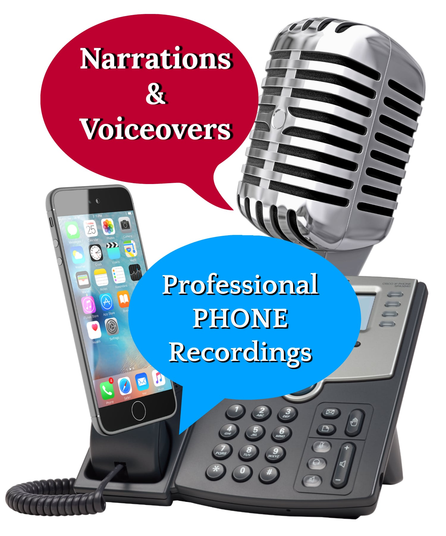 Services Professional Phone Greetings Voicemail Automated